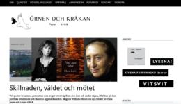 Webbsida för Örnen och kråkan