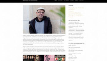 Filmkompositören Magnus Jarlbo