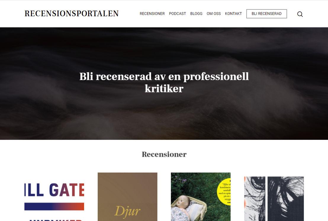 Websida Recensionsportalen