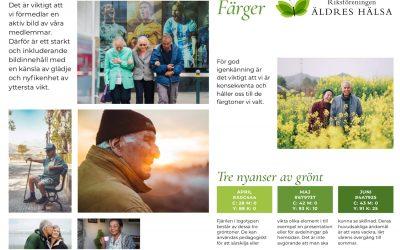 Grafisk profil för Riksföreningen Äldres Hälsa
